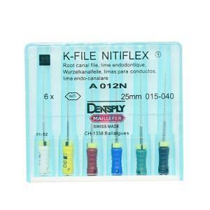 Инструмент ручной Maillefer K-File Nitiflex №30 25мм A012N02503012
