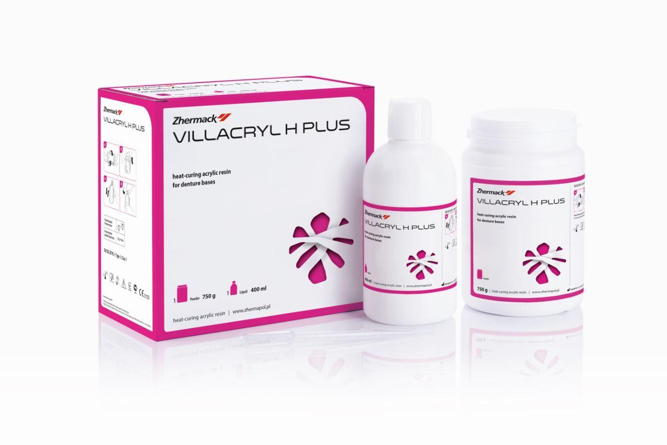 Пластмасса Villacryl H Plus цвет V4, 750г + 400мл, Zhermapol