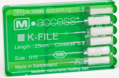 Инструмент ручной Maillefer K-File M-Access №10 25мм A12MA02501012