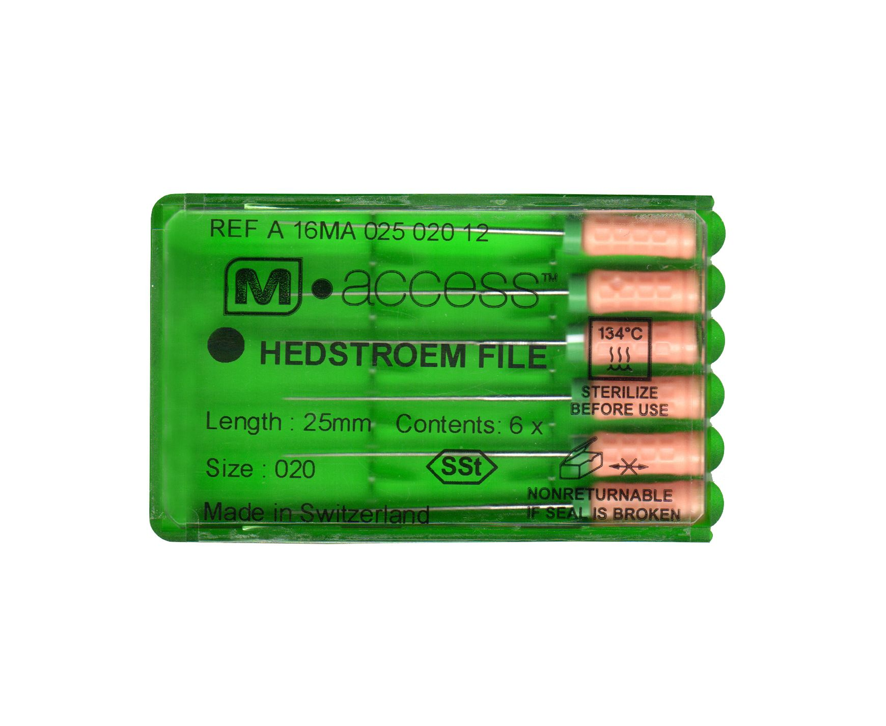 Инструмент ручной Maillefer Hedstroem M-Access №10 21мм A16MA02101012