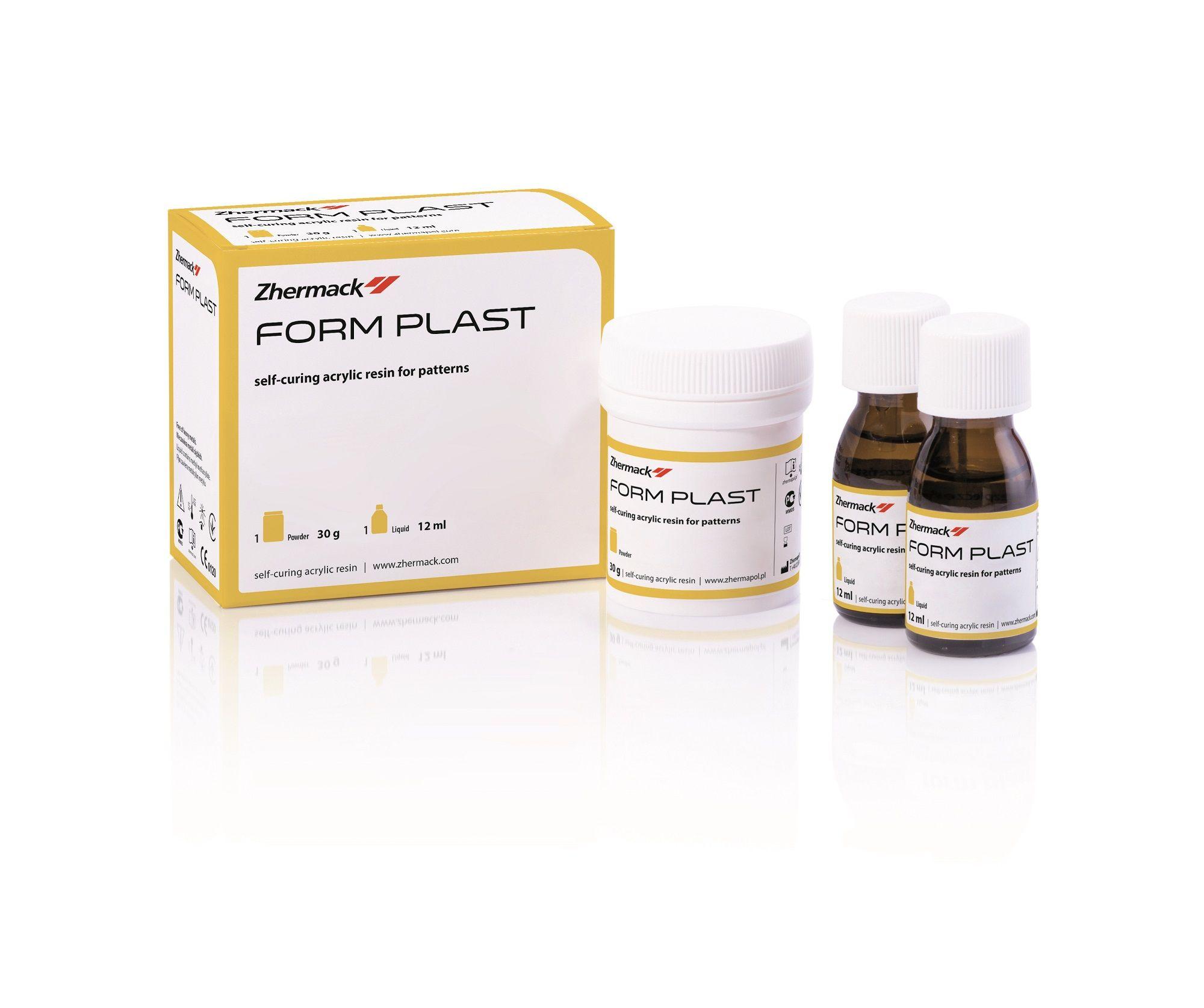 Пластмасса Form Plast 30г + 2х12мл
