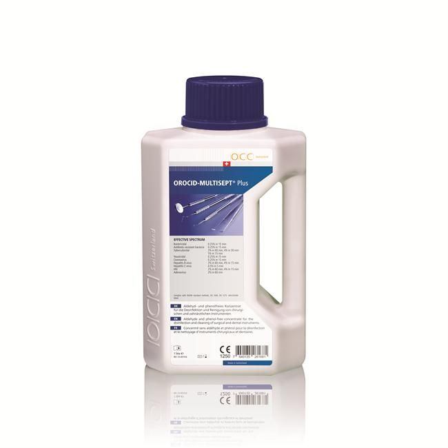 Жидкость для дезинфекции инструментов OroClean Orocid Multisept Plus 1л