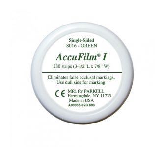 Бумага артикуляционная Parkell AccuFilm Green 280шт S016