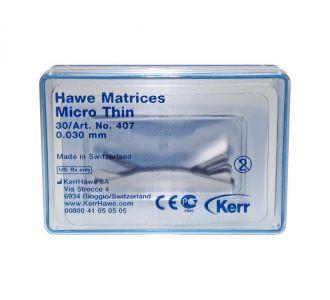 Матрицы Kerr Hawe Neos Dental №407 30шт