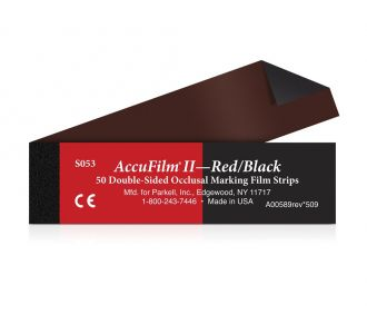 Бумага артикуляционная Parkell AccuFilm II Double Sided Booklets
