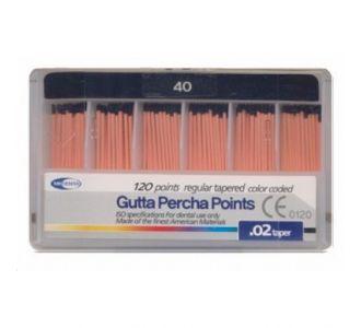 Гуттаперчевые штифты Meta Dental №40 (120шт)