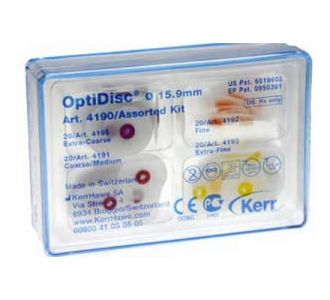 Набор дисков Kerr OptiDisc Assorted Kit №4190 80шт