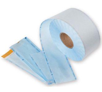 Рулоны для стерилизации Dispodent с индикатором 100х200 бумага/пластик