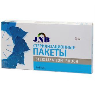 Пакеты для стерилизации JNB 3-1/2 х9 9х23см 200шт 1А8101