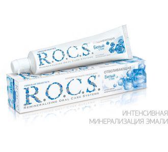 Зубная паста ROCS Отбеливающая 74г
