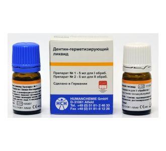 Препарат Human Chemie дентин - герметизирующий ликвид, 2флх5мл