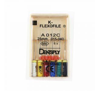Инструмент ручной Maillefer K-Flexofile Colorinox №15/40 25мм A012C02590012