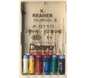 Инструмент ручной Maillefer K-Reamer Colorinox №25 21мм A011D02102512