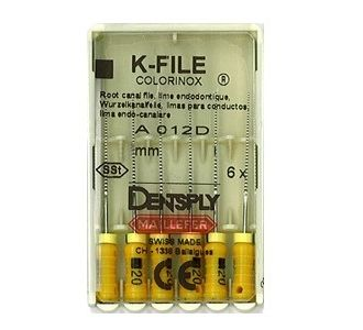 Инструмент ручной Maillefer K-File Colorinox №90 21мм