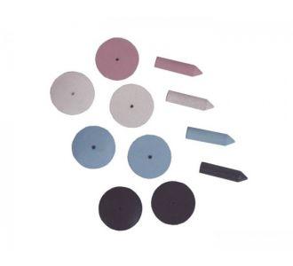 Cиликоновые диски Keystone Delux к9905 100шт 1909005
