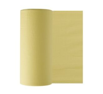Бумажные фартуки в рулонах для пациентов 80 шт, желтые Euronda