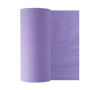 Бумажные фартуки в рулонах для пациентов 80 шт, лиловые Euronda