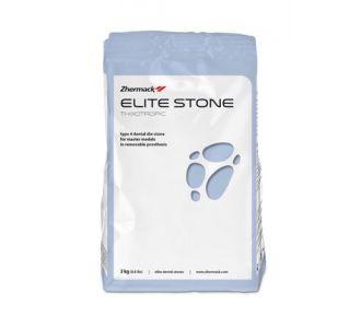 Гипс Zhermack Elite Stone 4 класс 3кг синий С410050