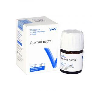 Дентин-паста без отдушки (50г) Владмива