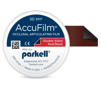 Бумага артикуляционная Parkell AccuFilm Red-Black 280шт S017