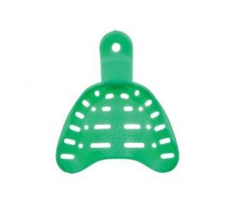 Слепочные ложки HI-TRAY, средний р-р, в/ч, пластик, 12шт