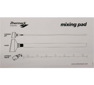 Смесительный блокнот Zhermack со шкалой дозировки 12 листов C207202