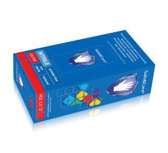 Перчатки Safe&Care размер M латексные неопудренные двукратное хлорирование 100шт