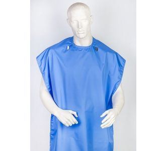 Фартук защитный Clean+Safe, голубой, LARGE - III (У) 70х135см