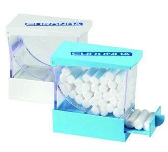 Диспенсер для ватных валиков Monoart, синий