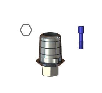 STCS-S16/S17 Титановая база CAD-CAM для S16/S17, SGS