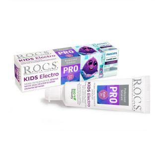 Зубная паста ROCS PRO Kids Electro 45г