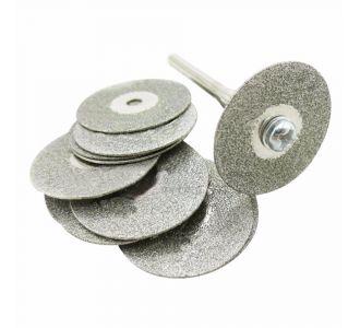 Диски сепарационные алмазные двухсторонние, диаметр 20-22 мм