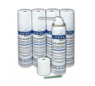 Спрей окклюзионный Yeti для определения контактных точек, синий, 75 мл