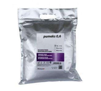 Порошок полировочный Pumeks 0,6 натуральный, крупнозернистый, 3кг, Zhermapol