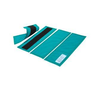Комплект защитных пластин из четырех элементов КПР34-Р-К (винил,  0,5 мм)