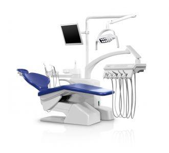 Стоматологическая установка Siger S30 с передвижным блоком врача, под вакуумную помпу, цвет 1009