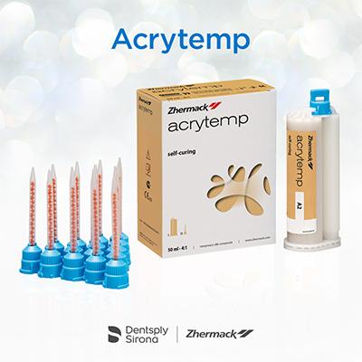 Acrytemp: пластмасса для быстрого изготовления временных конструкций