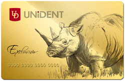 Золотые подарки Unident