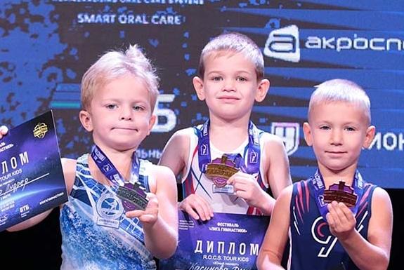 Всероссийский фестиваль «Лига Гимнастики» при поддержке R.O.C.S.