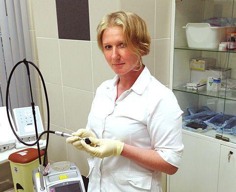 Мария Солоп: Клиника, где есть лазер, всегда имеет преимущество